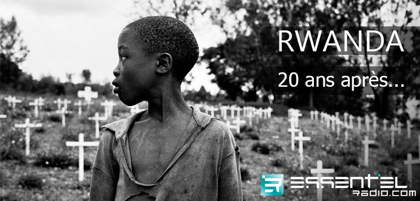 Rwanda : 100 jours, 1 million de morts... Retrouve le témoignage bouleversant d'une rescapée du génocide ==> http://www.essentielradio.com/radio/podcasts/l-actu-autrement-9.html