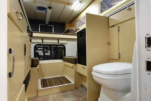 Four Wheel Campers Debuts The Fleet Self Contained Pop Up Camper With A Cassette Toilet And Inside Shower