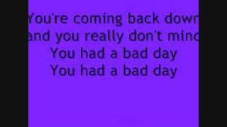 Daniel Powter Bad Day Lyrics Youtube Daniel Powter Bad Day Bad Day Lyrics Lyrics
