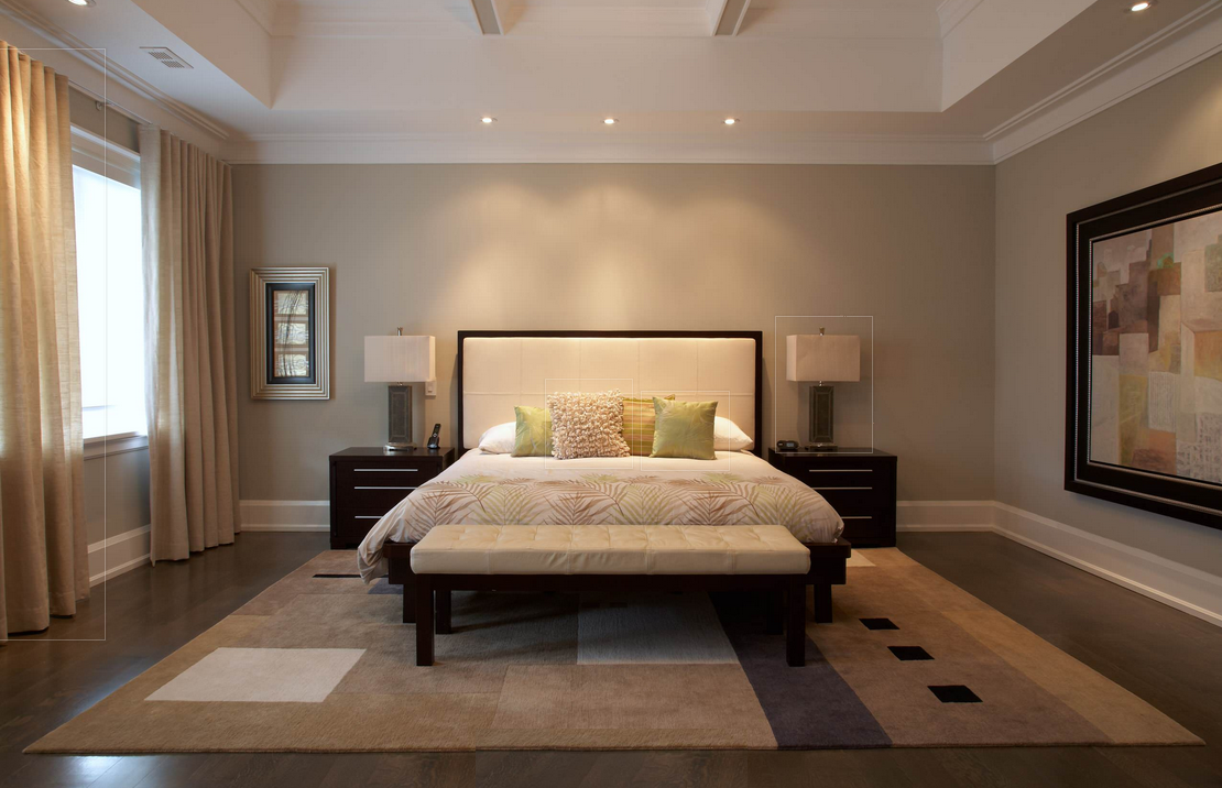 Recessed Lighting Over Bed Bedroom In 2019 Ceiling Curtains