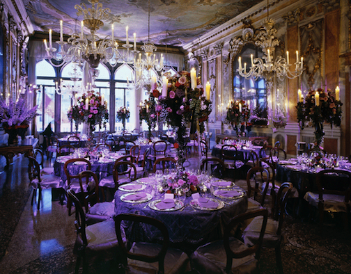 Purple Pink And Gold Wedding Or Event Decor Elegant Venetian Palace