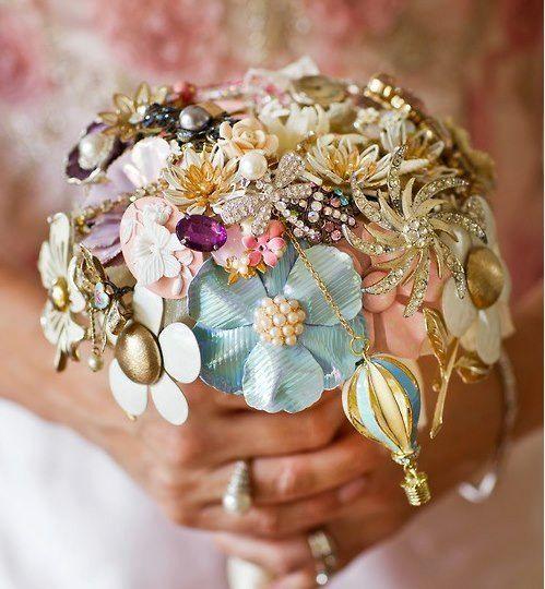 Broach Bouquet! So beautiful!