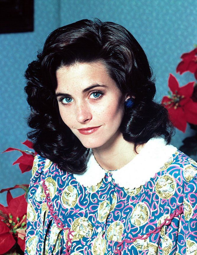 I Ll Be Home For Christmas 1988.Courteney Cox I Ll Be Home For Christmas 1988