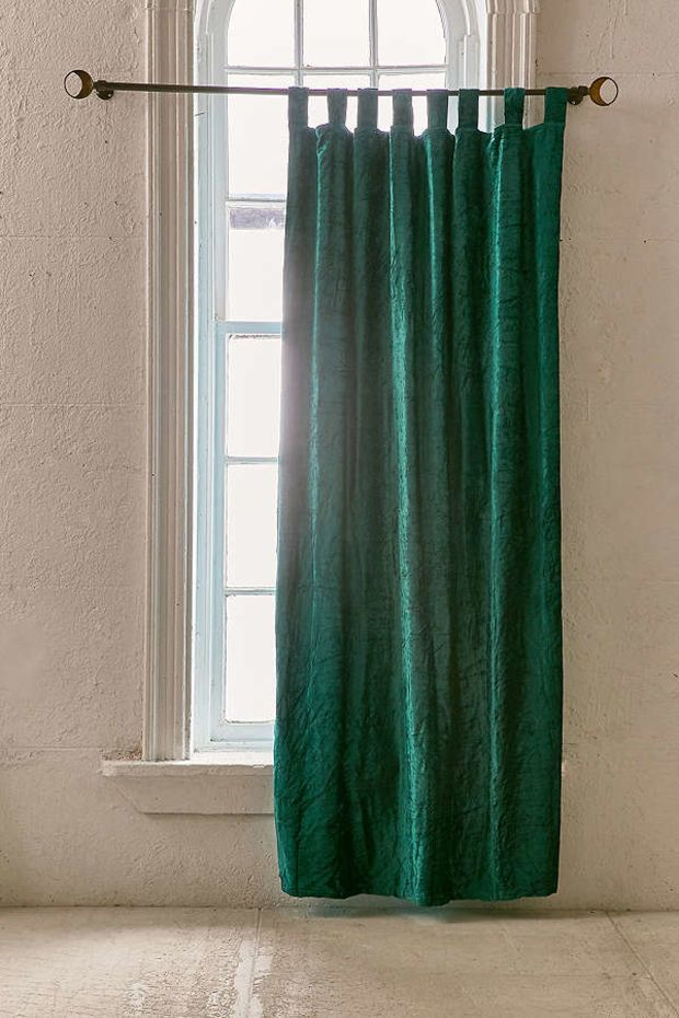 Crushed Velvet Window Curtain Urban Outers Apartment