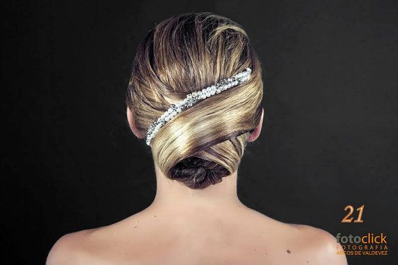 Wedding Bridal Headpiece with pearls by AddSomeCharmBoutique, $30.00