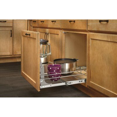 Rev A Shelf Pull Out Drawer In 2020 Rev A Shelf Pull Out Drawers