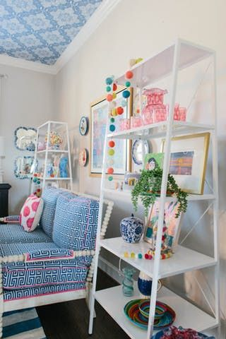 """A """"Jonathan Adler Meets Justina Blakeney"""" Style Fort Worth House"""