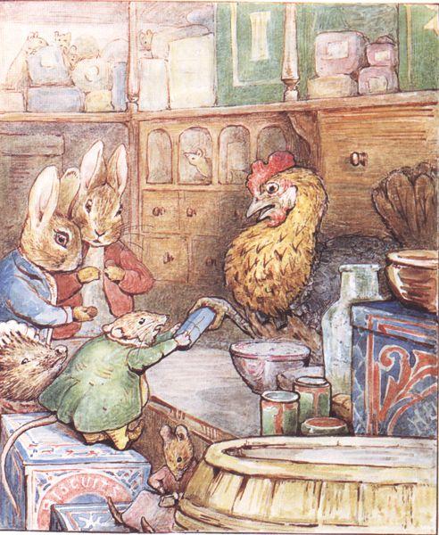 Penelope S Woodland Fairy Tale Nursery: Pin By Ирина Катасонова On Beatrix Potter)
