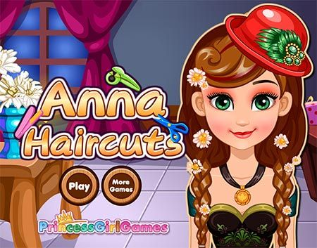Frozen Anna Haircuts Game Chipgames Girls Be Like Anna Frozen Free Online Games