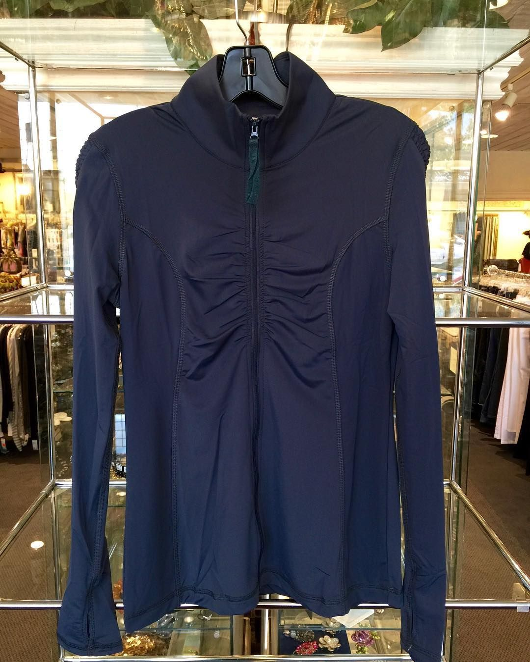 #Mystree #Jacket | Size S/M | $66! #Activewear doesnt have to cost a fortune to be great! #ClosetExchangeNeedham now carries #BRANDNEW activewear.  Stop by 906 Great Plain Ave to check it out!  Call for info (781)449-2500.  #ShopConsignment  #ShopLocal #DesignerDeals #Resale #Luxury #Thrift #Fashionista #Exercise