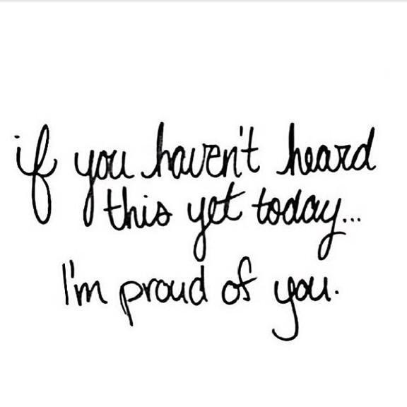 always proud