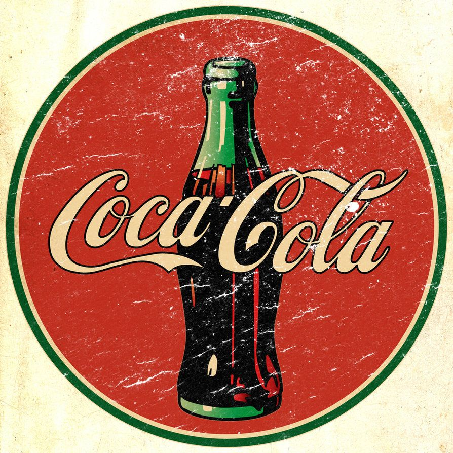 Vintage Coke Sign by kidx70811 on DeviantArt | it\'s the real thing ...