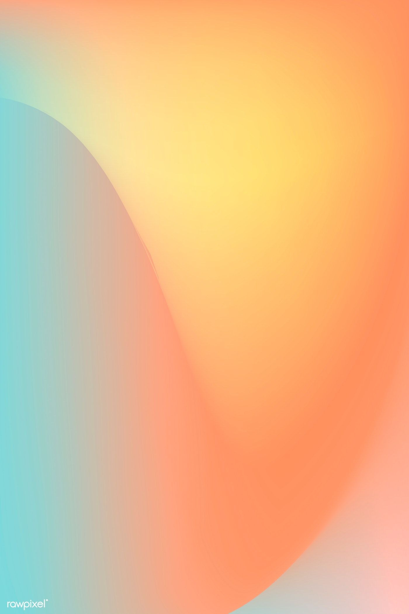 Summer gradient pattern background vector | premium image by rawpixel.com / Kappy Kappy