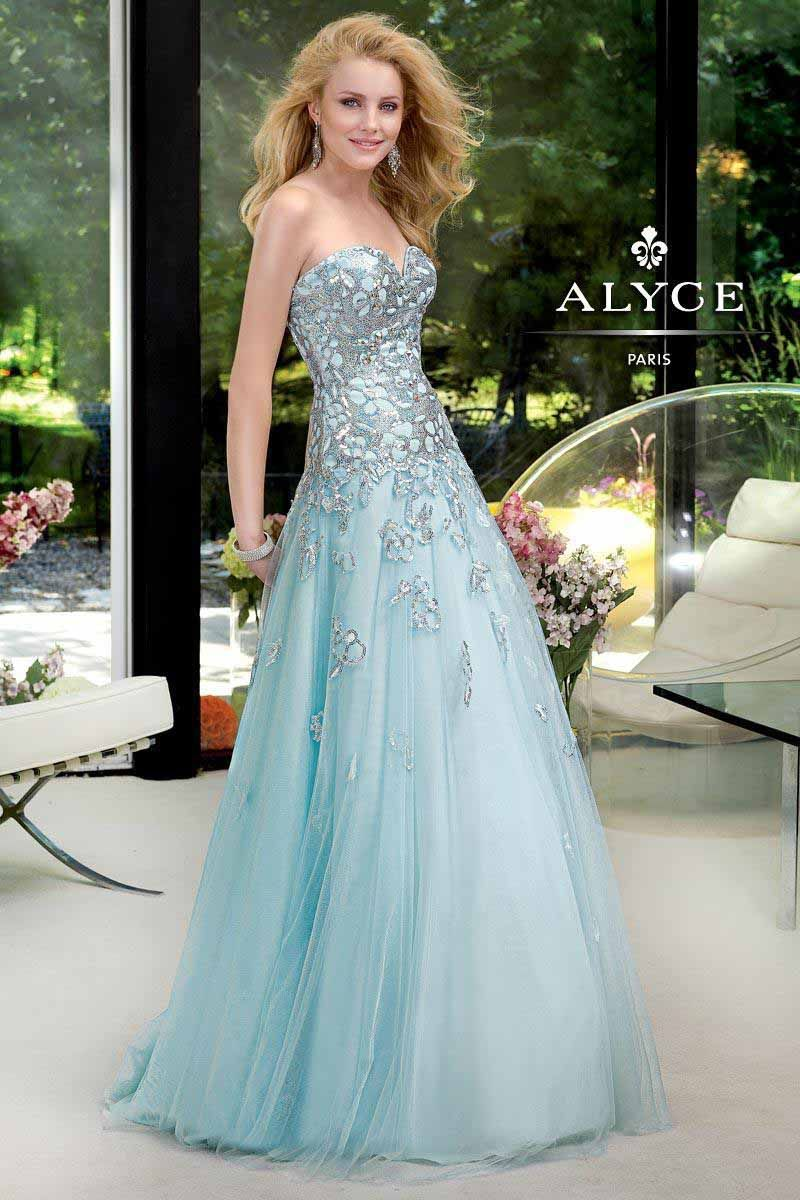 Most viewed dress today (1/18) on our web site ... Alyce Prom 6029 ...