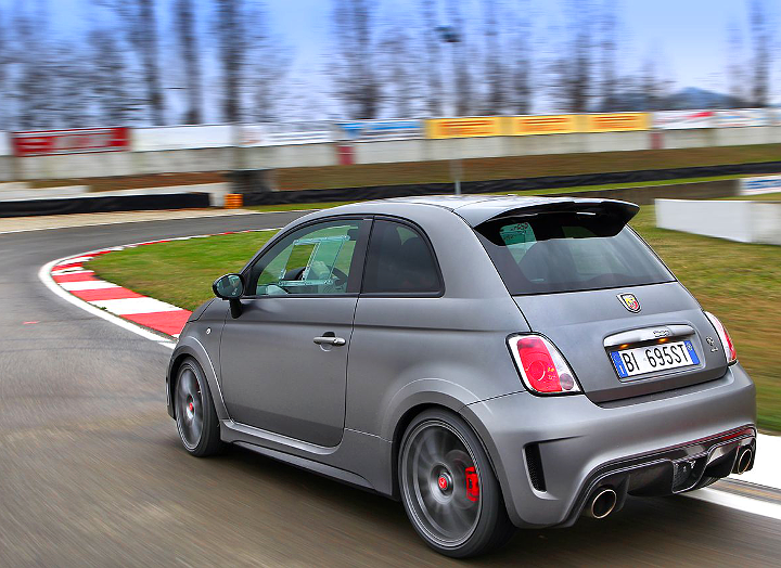 The fastest street legal Abarth 500 at Varano track! | Abarth ...