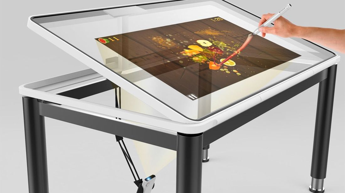 You've probably heard about the TouchPico – a handheld projector that transforms any surface…