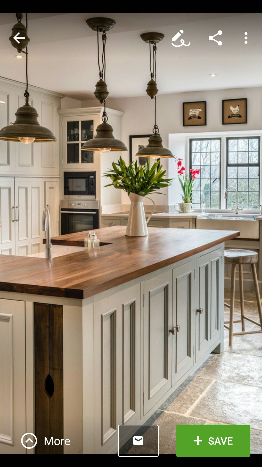 Farmhouse Kitchen Farmhouse Touches Country Rustic Distressed Look Rustic Kitchen Cabinets Rustic Farmhouse Kitchen Home Decor Kitchen