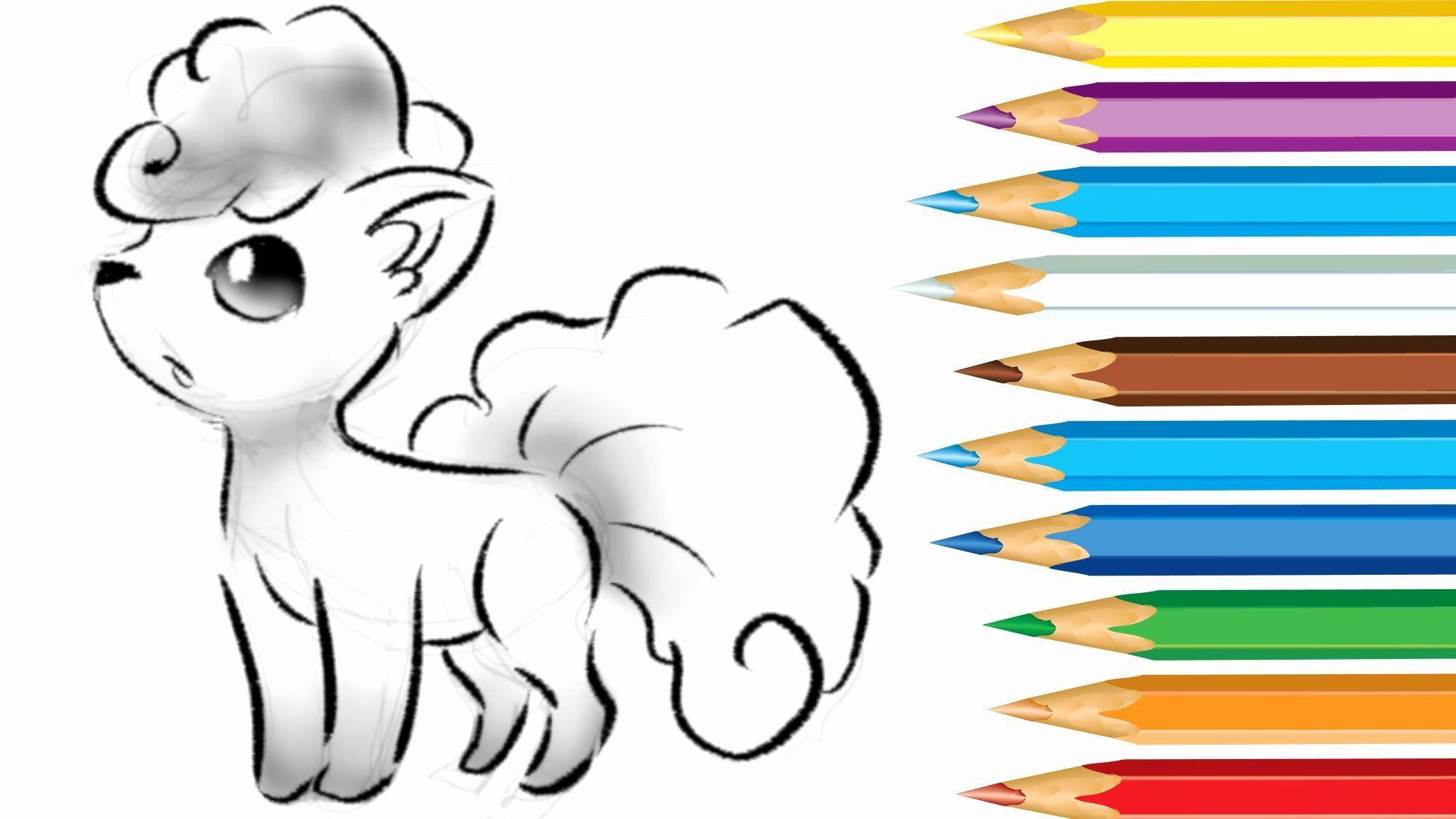28 Alolan Vulpix Coloring Page In 2020 Ninjago Coloring Pages
