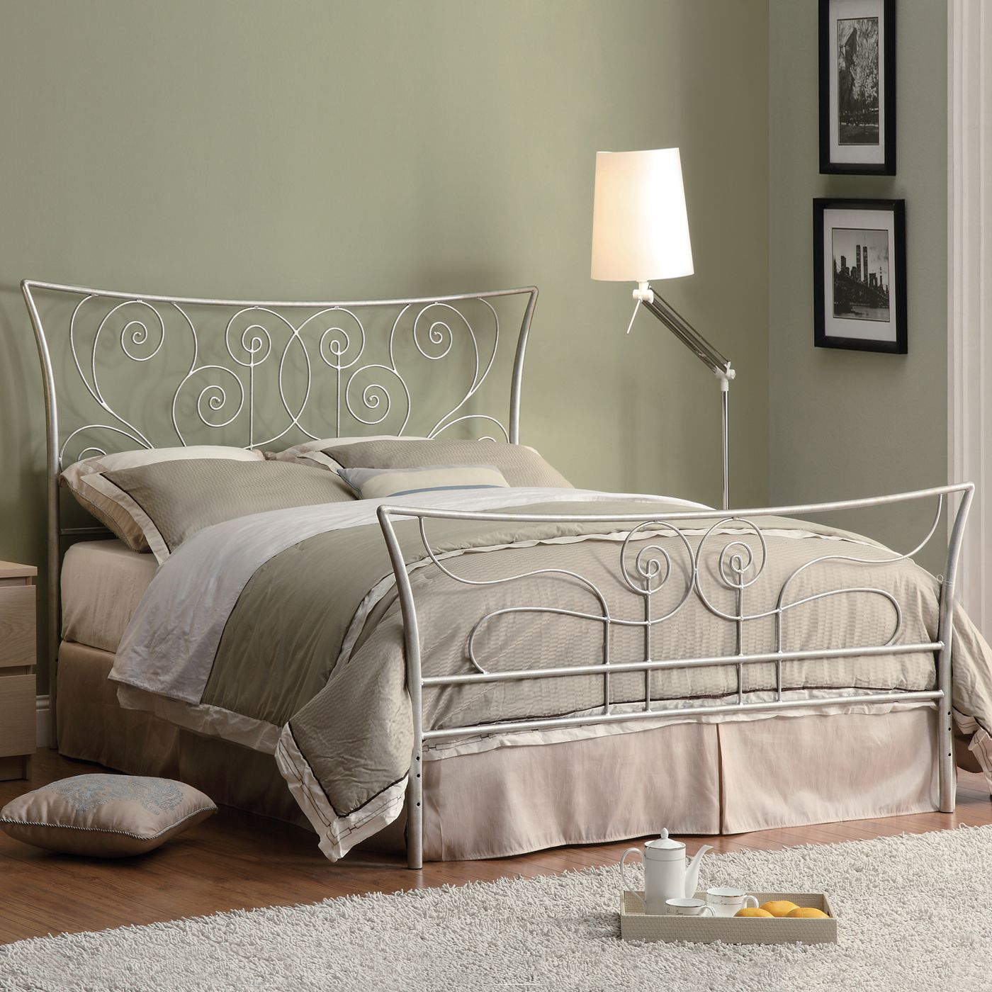 Coaster Fine Furniture 300252Q Queen Bed Headboard and Footboard Set ...