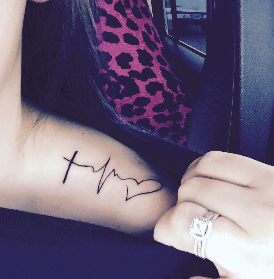 My newest shoulder tattoo faith hope love tattoos i for Faith love tattoo