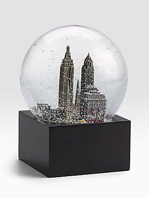 Saks Fifth Avenue New York City Snow Globe Bolas De Agua 35c4a8c0ea0f7