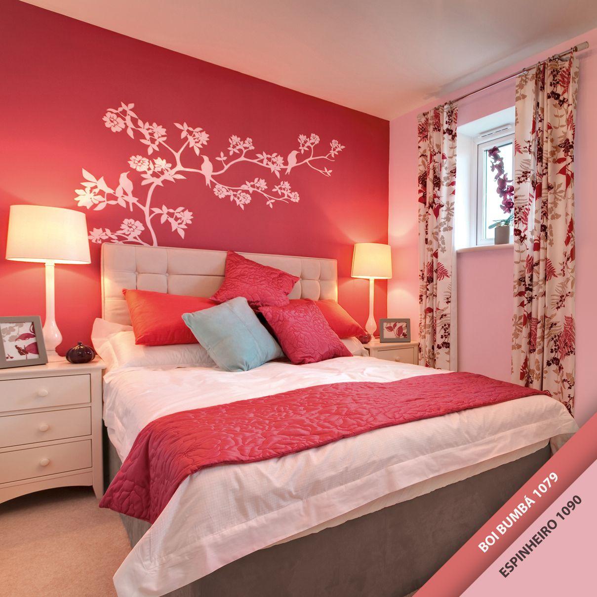 Cores Para Quarto ~ Novas cores e mais afeto no quarto da sua m u00e3e! Ela vai adorar uma pintura nova de presente 😉 #