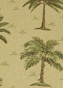 Desert Palm Fabric Is A Tapestry Depicting Of Trees This Slipcover Pattern Makes Us Yearn For Vacation
