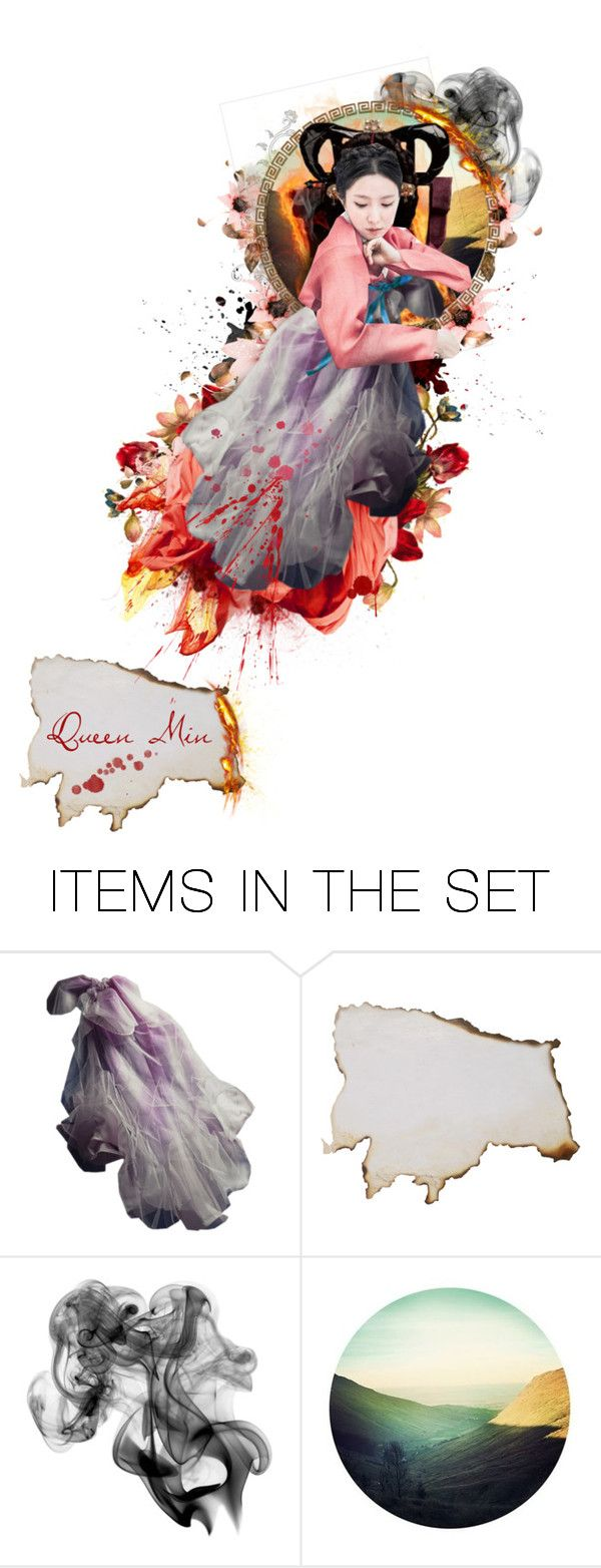 """""""Assassination of Queen Min"""" by chomiczynka ❤ liked on Polyvore featuring art"""