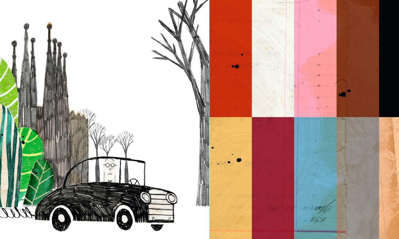 Le Corbusier - julio antonio blasco, sr. lópez. Ilustración & diseño gráfico