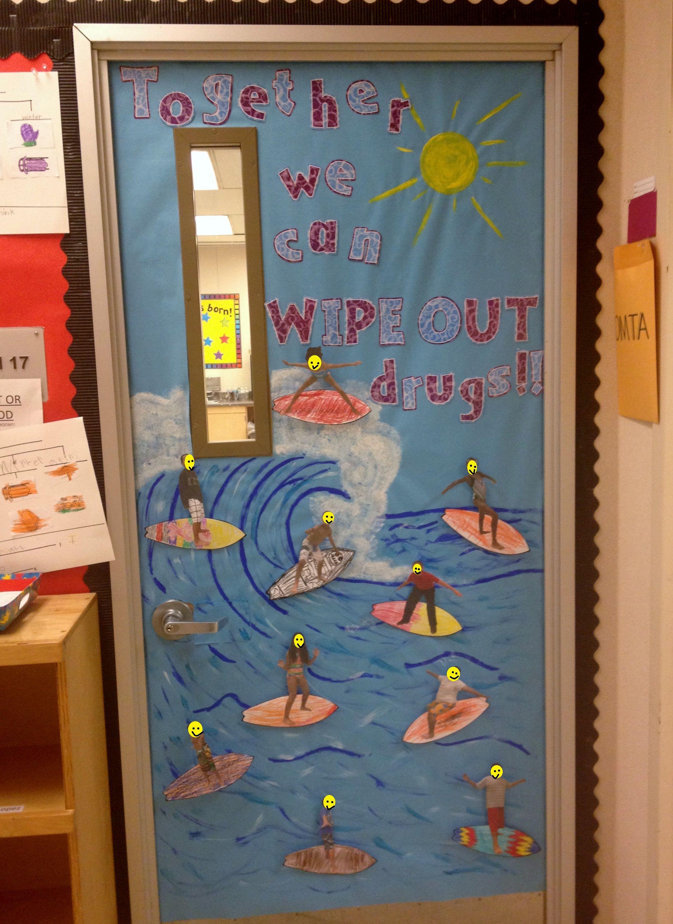 Red Ribbon Week Door Decorating Inspiration Red Ribbon Week Door