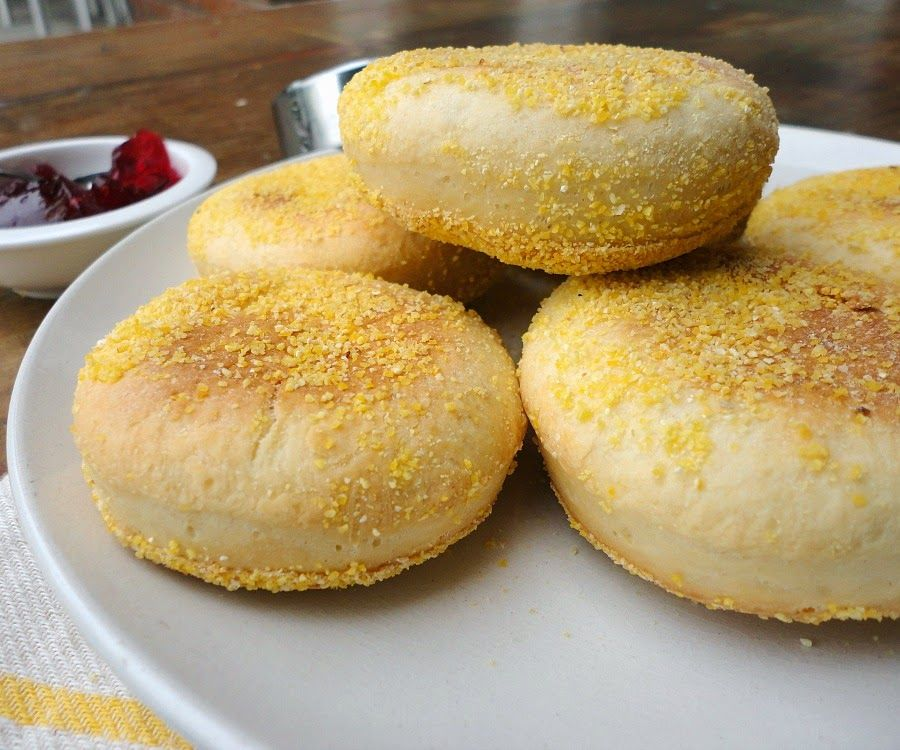 baked english muffins/ bonheurcuisine