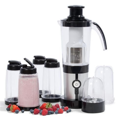 homemaker mini blender with drink bottles instructions