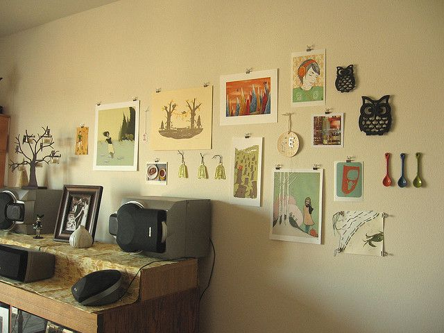 prints | Binder clips, Hanging art and Inspiration wall