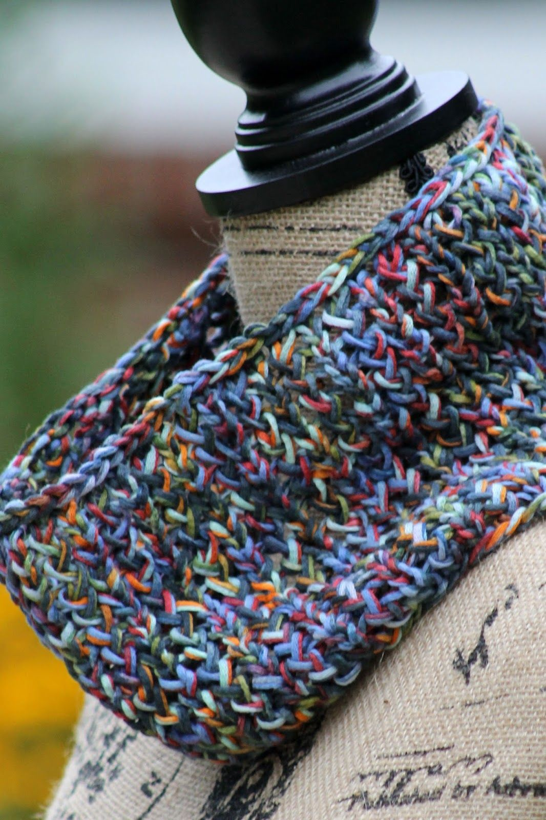 81-Yard Cowl | Knitting patterns, Yards and Patterns