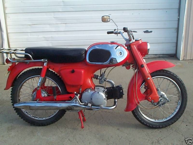 1964 Honda C200 Touring 90 90cc It Is Comparable To The CA 200 And Has