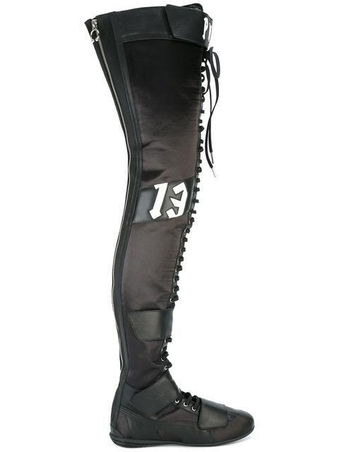 PUMA lace-up boots.  puma  shoes  系带过膝靴  e91b1869a46