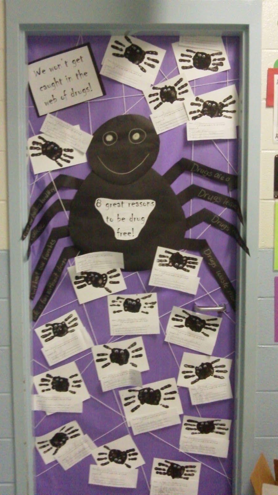 Red Ribbon Week Door Ideas Mrs Dercolas Fantastic First Graders
