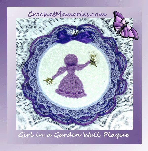 Take crinolines to the next level - mount them on plaques! And this little crinoline works up fast and is easy to work up - ready for novices and beginners.