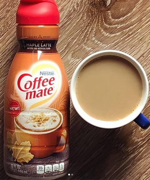 Coffee Mate rolled out a brand new flavor... and we are