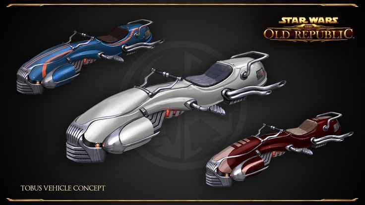 Awesome speeder bikes from star wars vehicle references