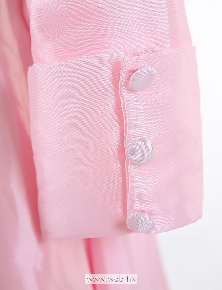 High neck A-line 3/4 length sleeve tea-length dress $125 ...