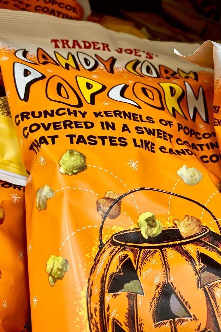 Trader Joe's Candy Corn Popcorn - My Review.