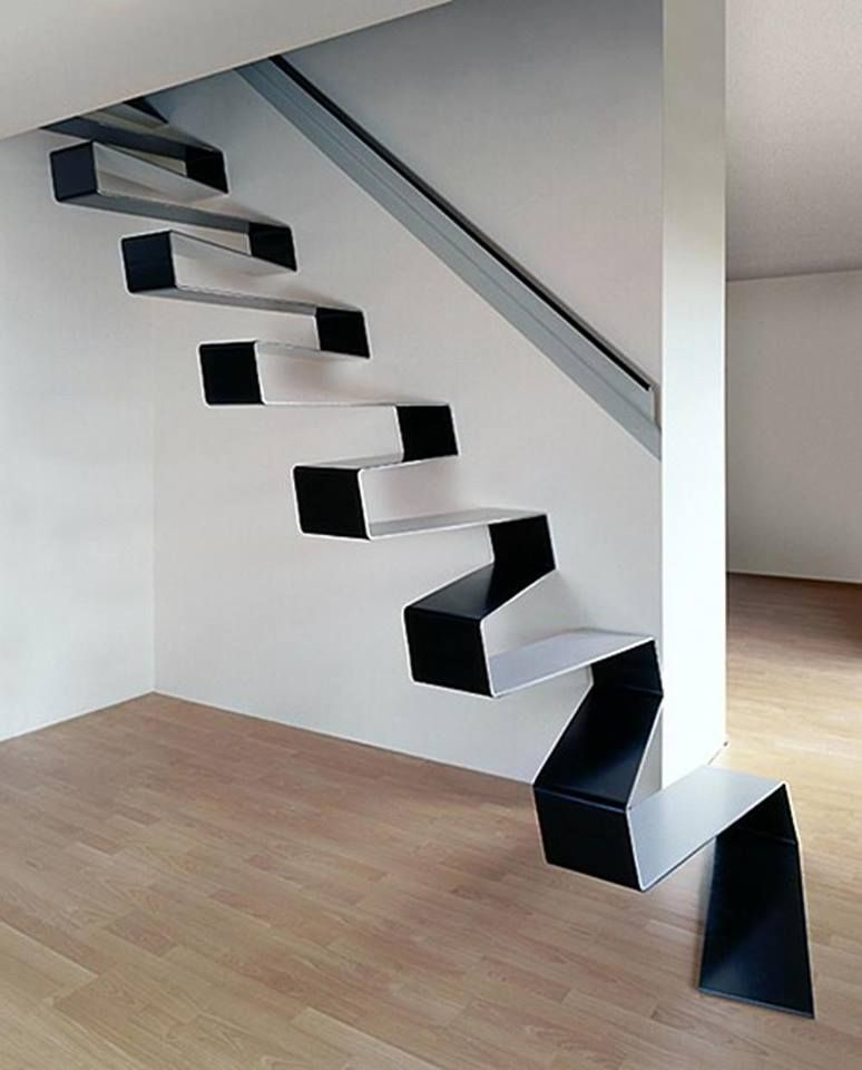 Stair Design Budget And Important Things To Consider: Unique Floating Staircases Design To Draw Inspiration From