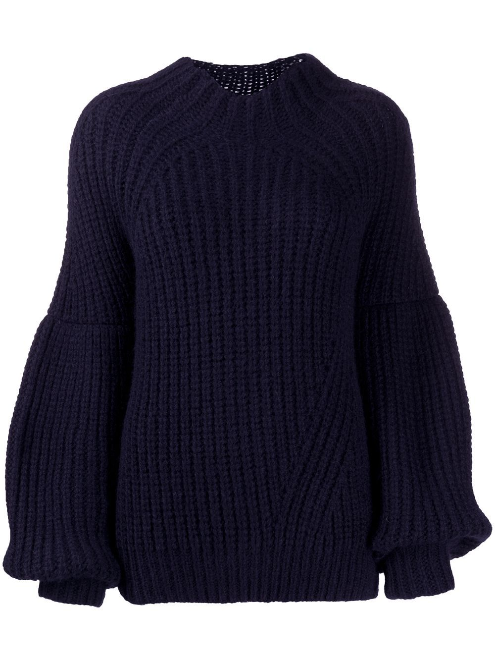 Ulla Johnson chunky knit jumper - Blue #chunkyknitjumper
