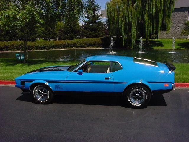 1972 Ford Mustang Mach 1 Mustangs Pinterest Mustang Ford And