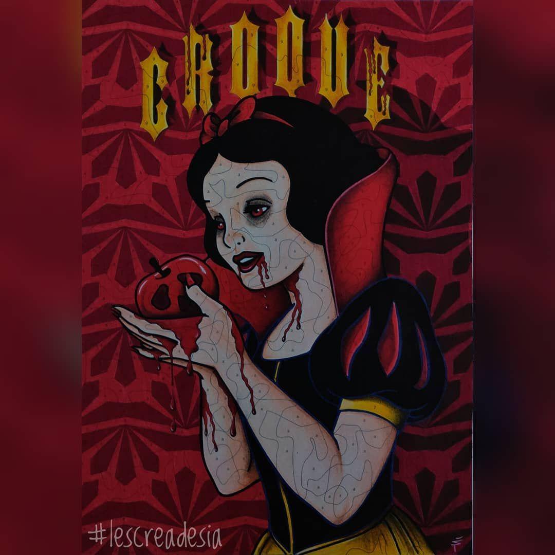 Coloriage mystère Disney arrangé à la sauce Halloween 🎃 Voici une