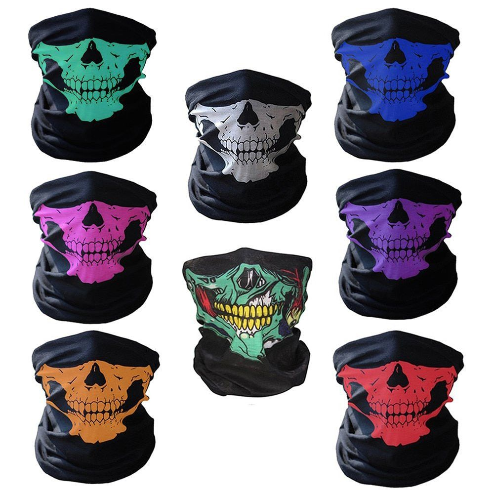 Automobiles & Motorcycles 2019# Motorcycle Face Mask Cycling Halloween Head Scarf Neck Warmer Skull Ski Balaclava Headband Scary Face Shield Mask Outdoor
