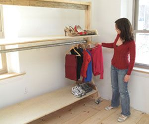 How To Build A Rolling Closet
