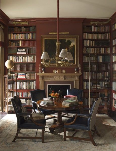 richard keith langham new york ny interiordesign reading nook pinterest bibliothek. Black Bedroom Furniture Sets. Home Design Ideas