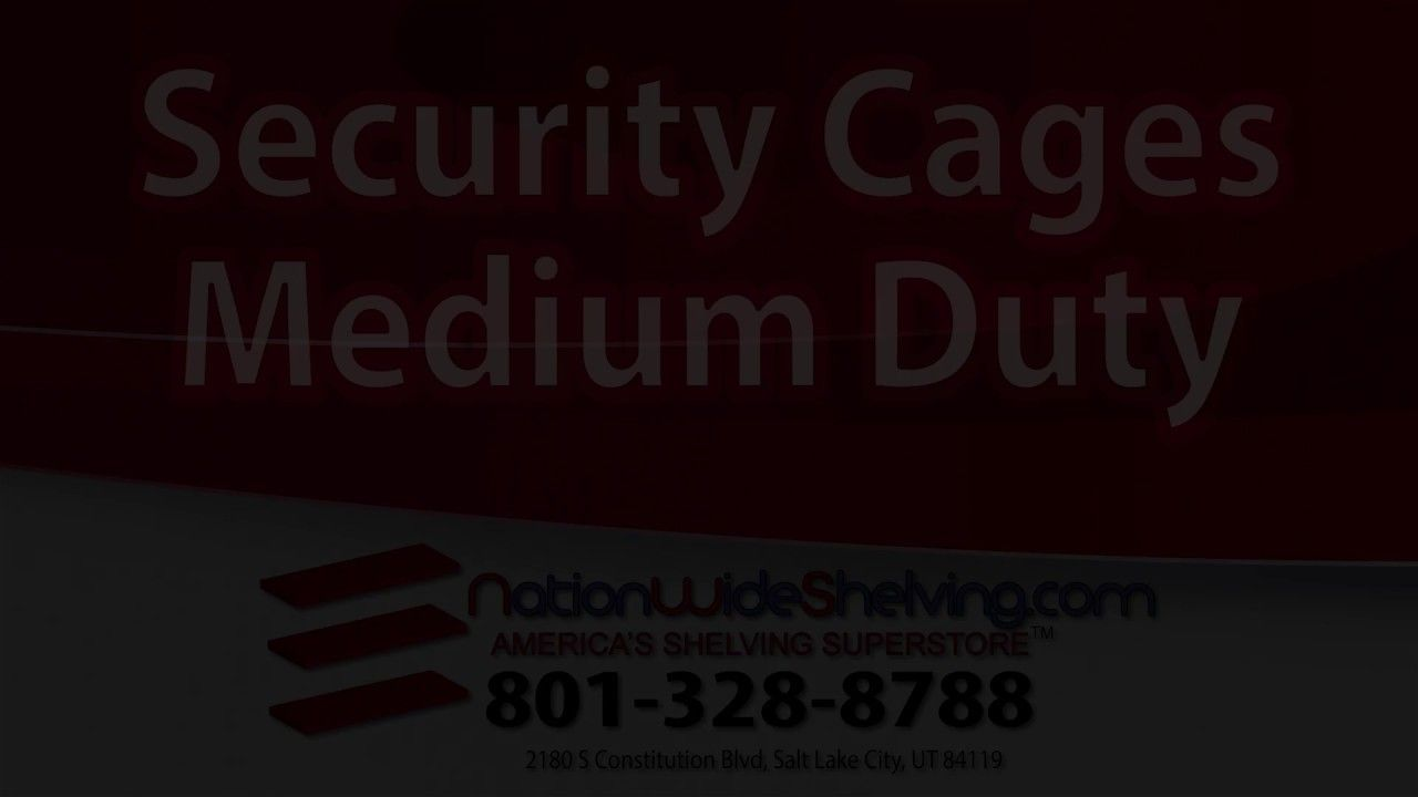 Security Cages Medium Duty || NationWide Shelving || 801-328-8788 http://www.nationwideshelving.com/security-cages.php Storage Property Protection: Security Cage Medium Duty (Stronger)  Security Cage Medium Duty is a great storage system for apartment building, cellars and attics, where a moderate level of protection is desired. Security Cage Medium Duty protect against theft and break-ins thanks to its approved locks and reinforced front panels. #SecurityCagesMediumDuty #SecurityCage